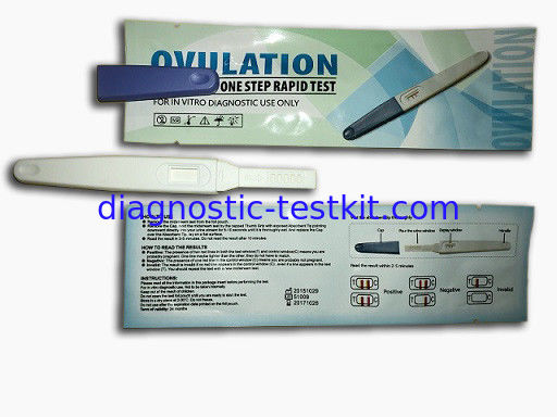 FDA FSC Approved Lh Ovulation Predictor Kit , Pregnancy Ovulation Kit